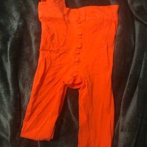 Pants - orange tights